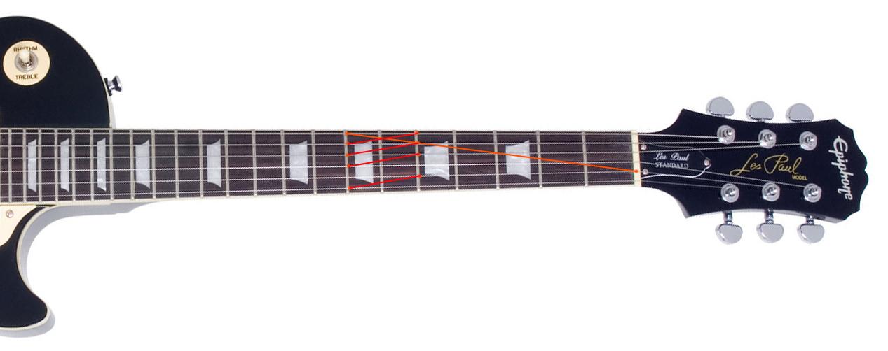 Настройка гитары по флажолетам
