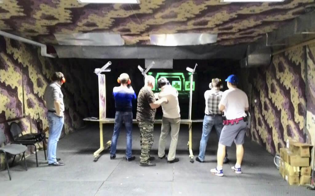 Тренировочные стрельбы