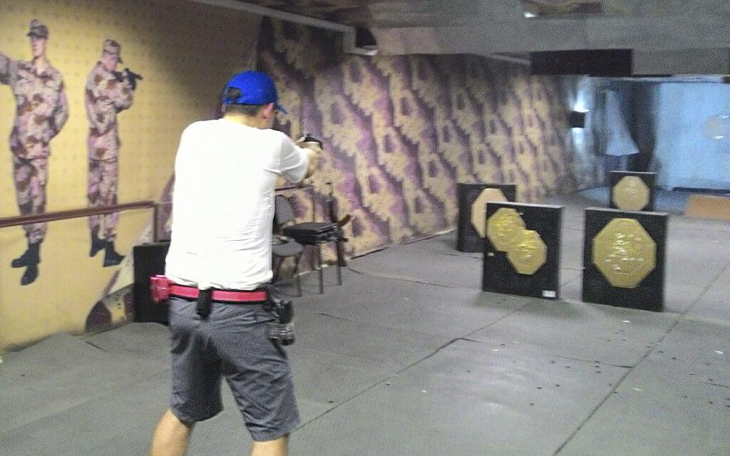 Мастер-класс инструктора по стрельбе